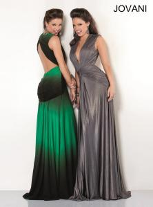 jovani_5750 grey and emerald