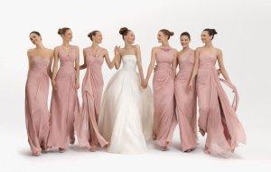 Pretty-Pink-Bridesmaid-Dresses