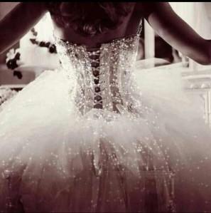 prom dress corset back