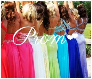 prom rainbow