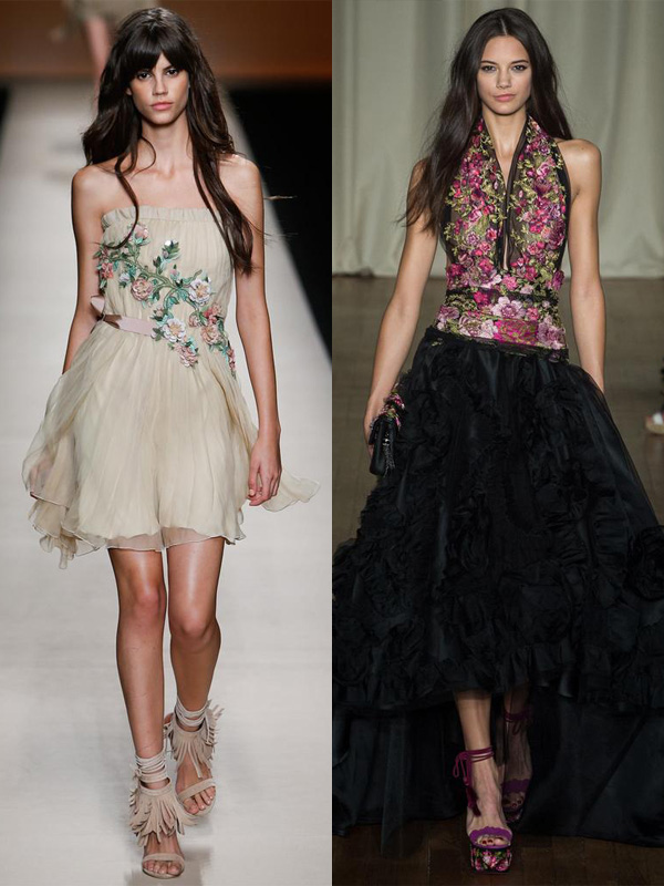 prom-dress-trends-2015florals- alberta ferretti, marchesa