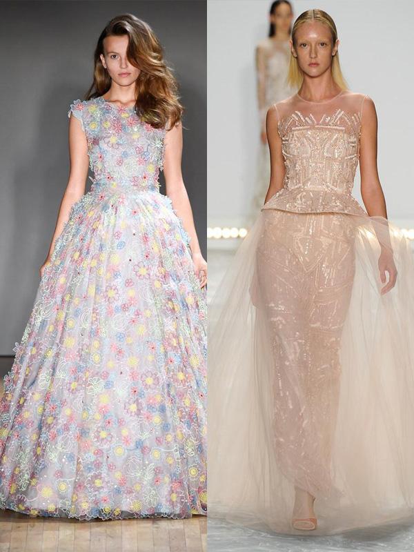 prom trends-full silhouette-monique lhuillier, jenny packham