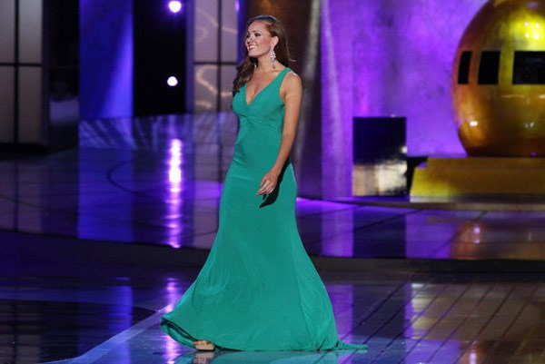 prom dress trends 2015 miss america chic simple green