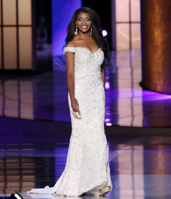 prom dress trends miss america 2015-white