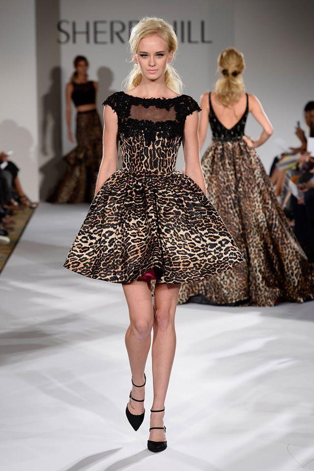 Bella Thorne Sherri Hill Fashion Week