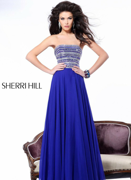 popular prom dress boston - sherri hill