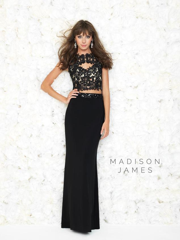 13 - madison james night moves crop top dress