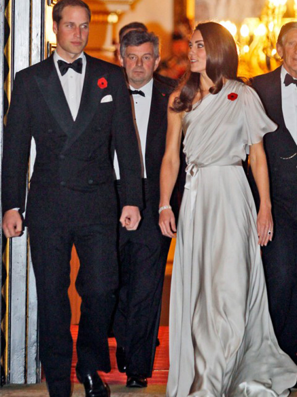 Clarence House gala dinner jenny packham