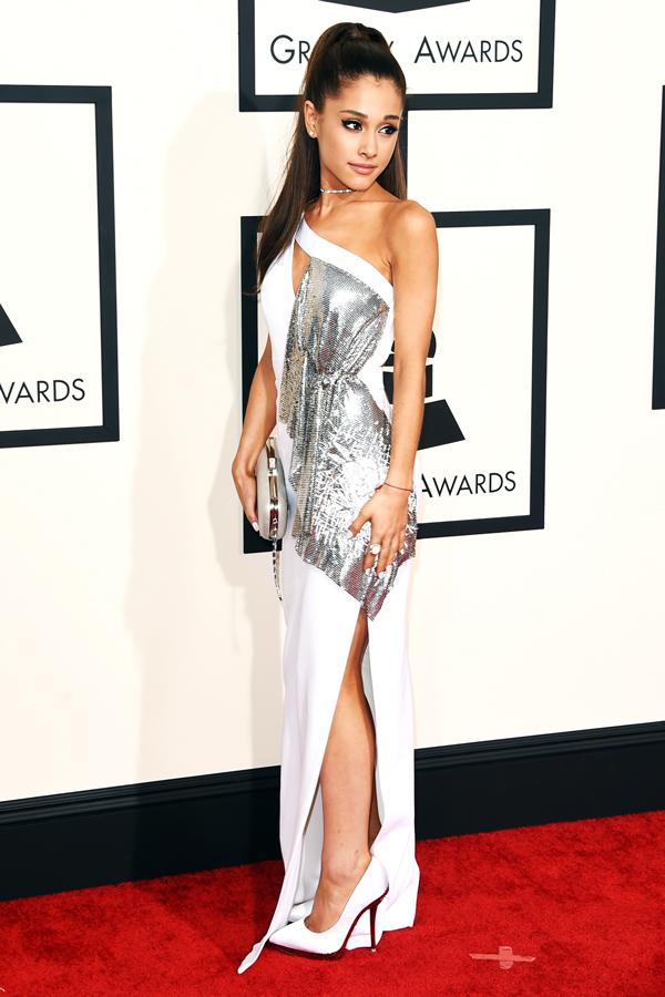 ariana grande grammys dress