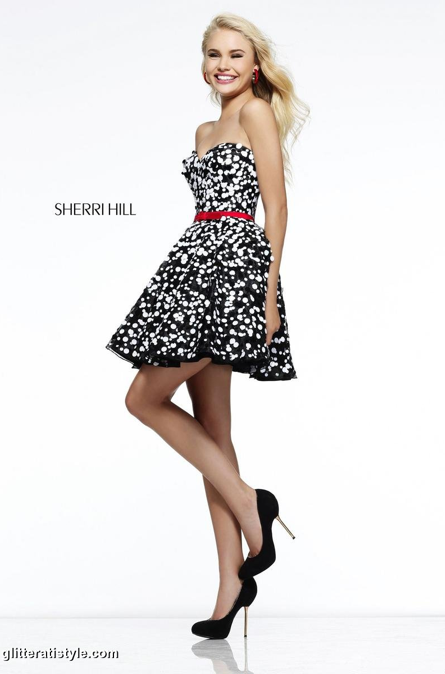 sherri hill short prom dress 2015