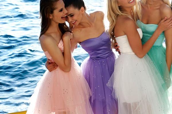 flattering prom dress