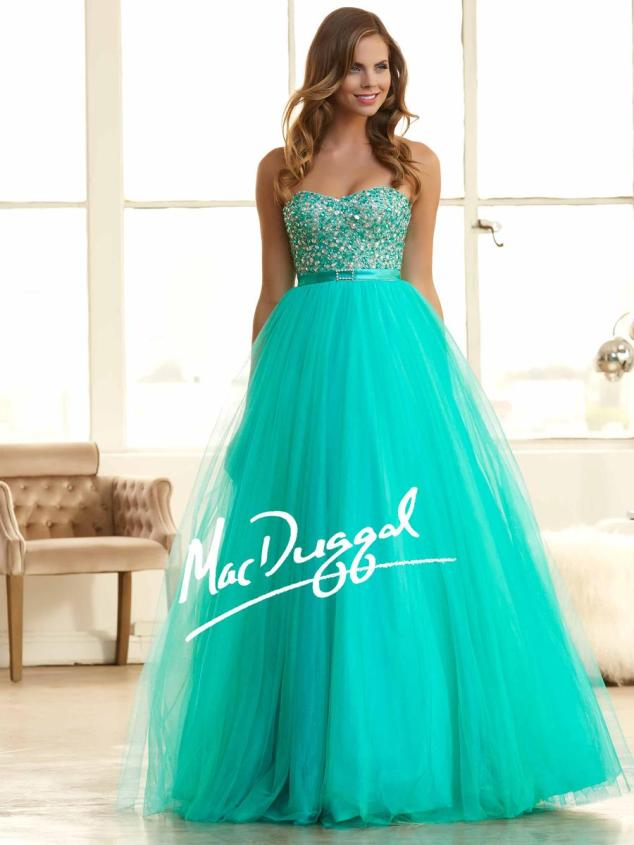 Mac Duggal 48261H_BrightJade_PC