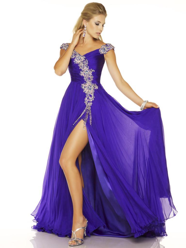 Mac Duggal pageant 42608P_Royal_Purple