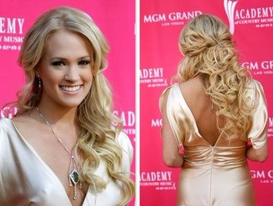 Carrie-Underwood-Half-Up-Half-Down-Hairstyles-2012